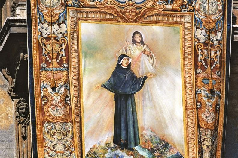 Portret beatyfikacyjny św. s. Faustyny. fot. Adam Bujak z albumu