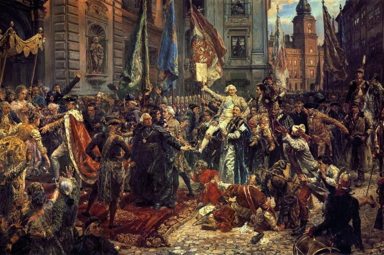 Jan Matejko, Konstytucja 3 Maja 1791 roku, fot. Wikipedia