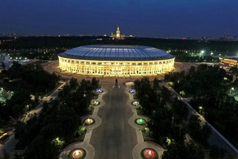 Rosyjski stadion Łużniki, fot. Wikipedia, autorstwa autorstwa Mos.ru, CC BY 4.0, https://commons.wikimedia.org/w/index.php?curid=61780950