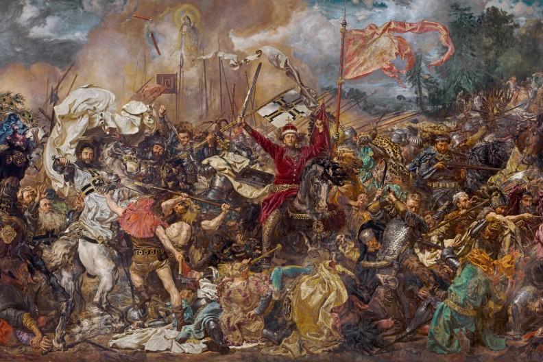 Król Władysław Jagiełło zawierzył bitwę pod Grunwaldem Bogu i Jemu także dziękował za zwycięstwo, doprowadzając do ustanowienia święta w rocznicę zwycięstwa. Opieka Matki Bożej nad polsko-litewskimi wojskami została zobrazowana także na słynnym obrazie Jana Matejki.