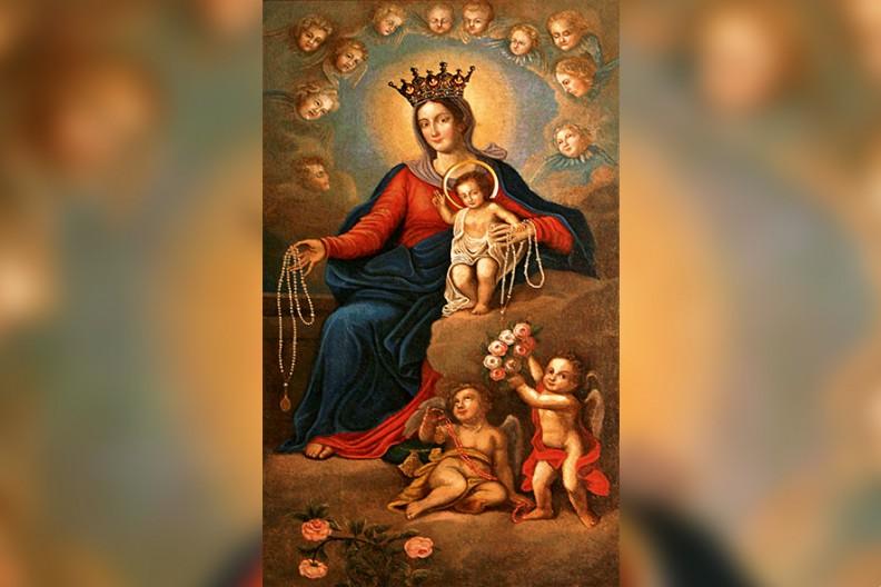 Matka Boża Tarnopolska, której obraz zawędrował do kościoła oo. dominikanów w Poznaniu. fot. z książki