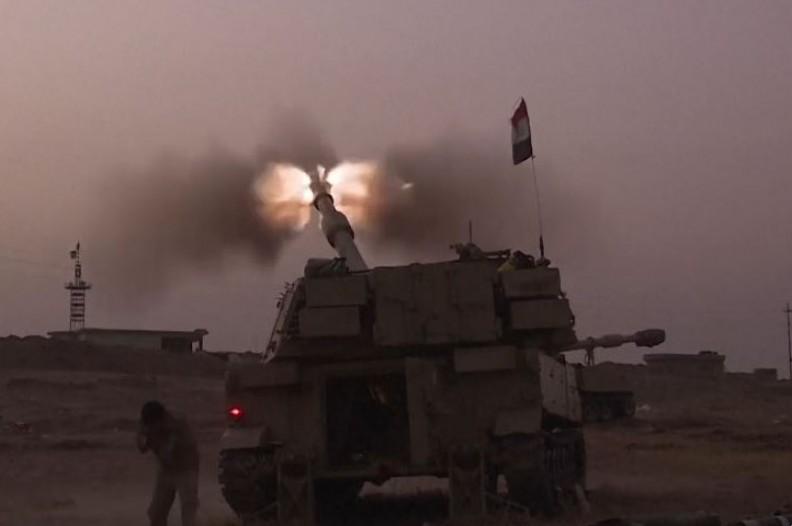 Atak na Mosul. Fot.: VOA/Wiki Commons