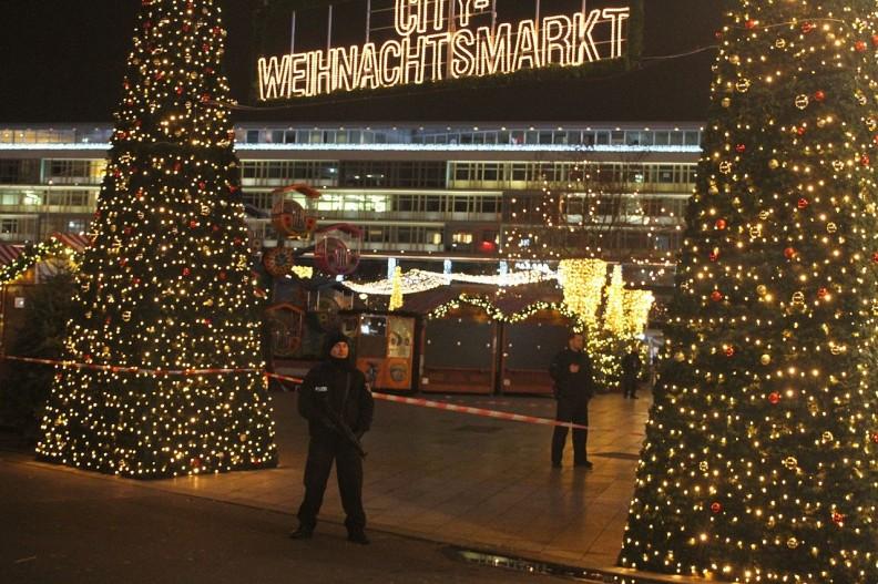 Wieczór zamachu w Berlinie, 19 grudnia 2016 r. Fot.: Andreas Trojak/Wiki Commons