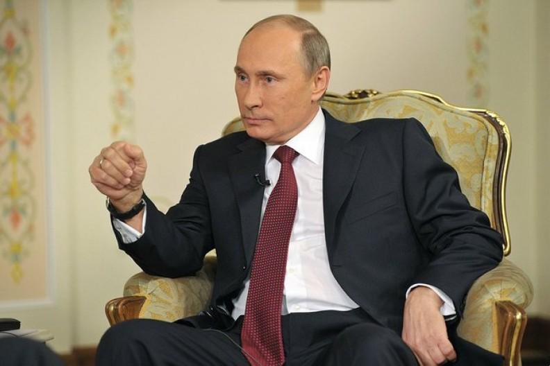 Prezydent Rosji Władimir Putin stara się prowadzić politykę imperialną. Fot.: Presidential Press and Information Office/Wikimedia Commons